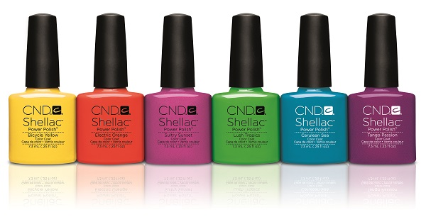 CND Shellac Paradise Collection